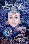 'Princess of the sea', Strelchuk Natasha, 16 years